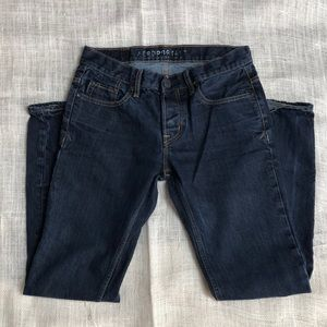Aeropostale slim straight button fly Jeans